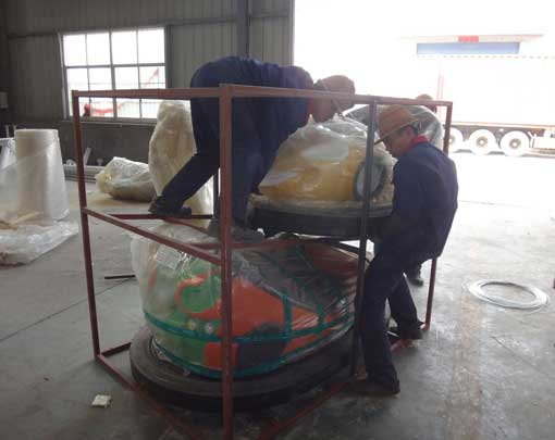 Electric Bumper cars packing