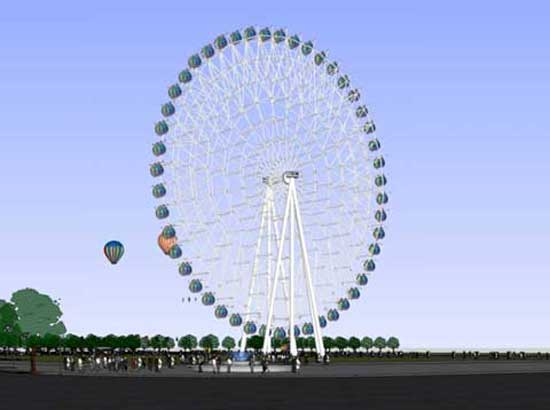 72 Meter Ferris Wheel for Sale