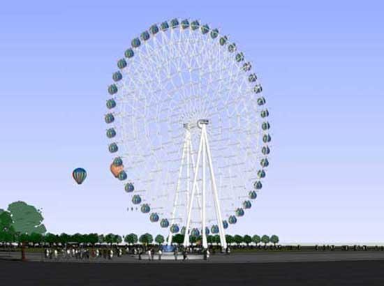 72 Meter Ferris Wheel for Sale
