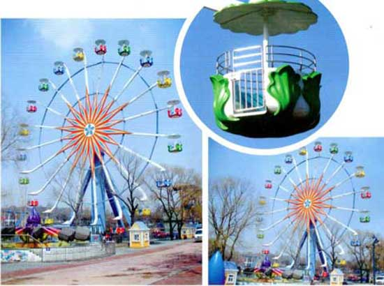 Amsuement park ferris wheel for sale with 36 meter