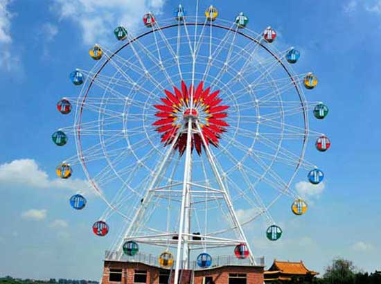 45 Meter Ferris Wheel for Amusement Park Use