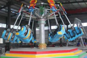 Theme Park Spiral Jet Rides for Sale
