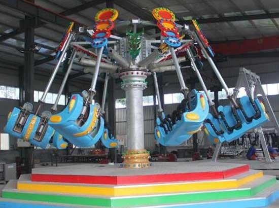 Theme Park Spiral Jet Rides for Sale