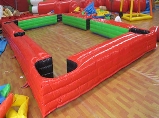Red- Inflatable Snookball Table for Sale