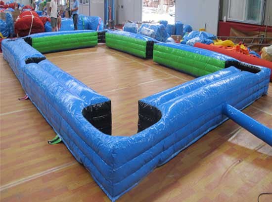 Blue Inflatable Snookball Table For