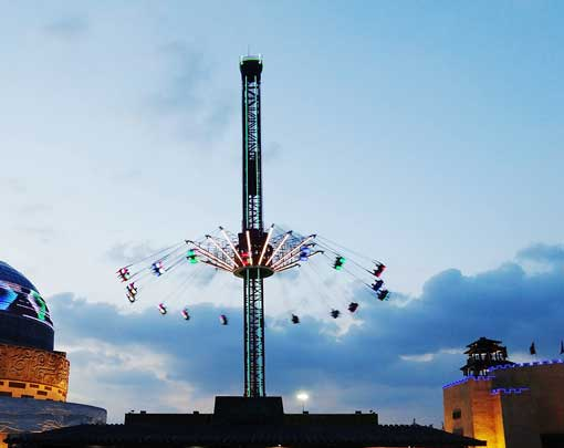 40 Meter Swing Tower With Lights from Beston