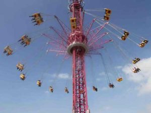 52 Meter Swing Tower Rides for Sale