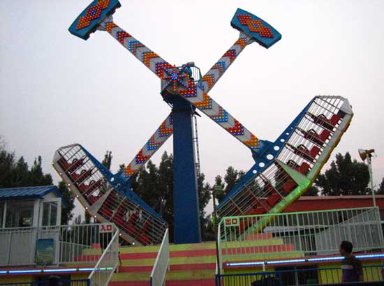 Details of Meteor Hammer Rides With Lights for Sale in Beston