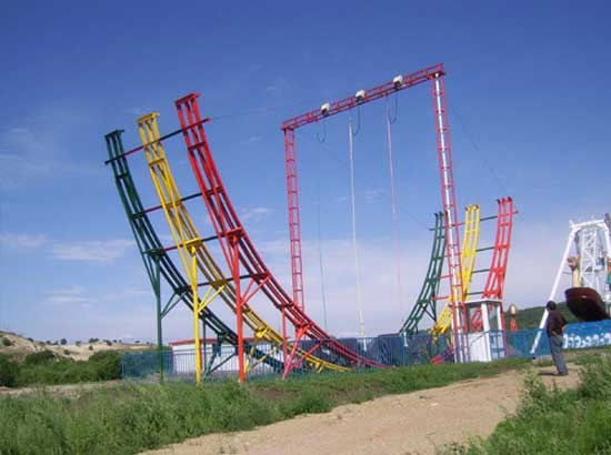 3 Ring Meniscus Roller Coaster Car Rides for Sale