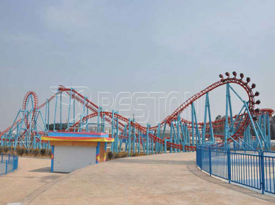 20 Person Suspended Roller Coaster Rides for Sale
