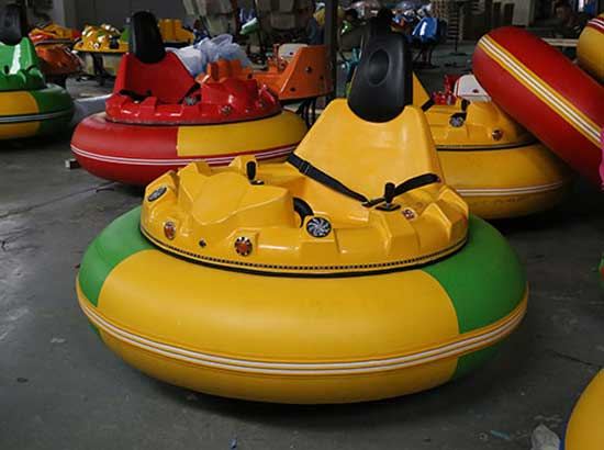 Buy Yellow Inflatable Bumper Cars