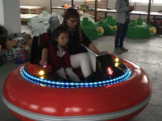 Inflatable Bumper Cars With Led Lights