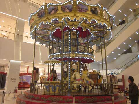 Amusement Park Double Decker Carousel for Sale