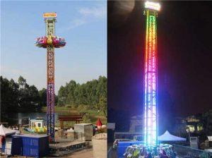 Rotary Drop Tower Ride for Sale