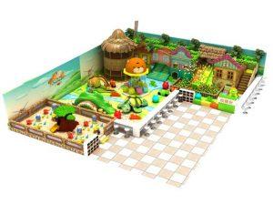 Kiddie Bear Indoor Playground Equipment for Sale