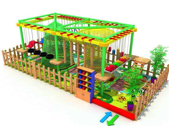 Forest Theme Beston Indoor Playground Equipment