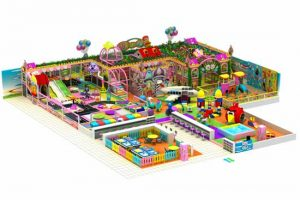 Large Kids Area Indoor Playground Equipment