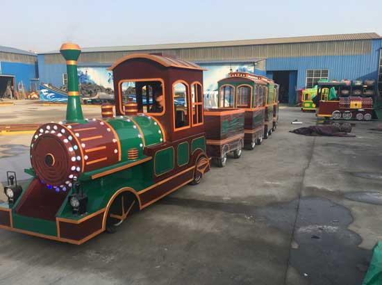 Kids Trackless Train for Sale Cheap