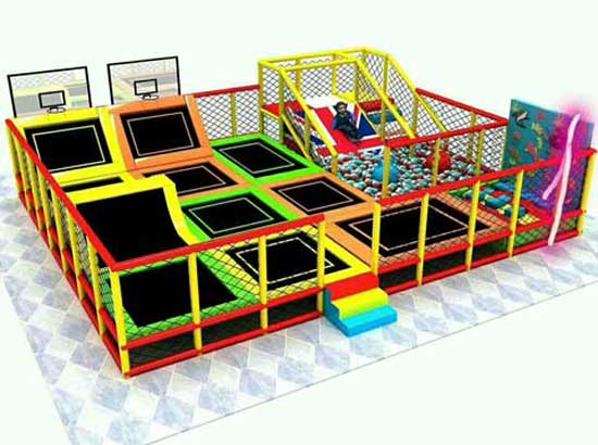 Beston Trampoline Park Equipment