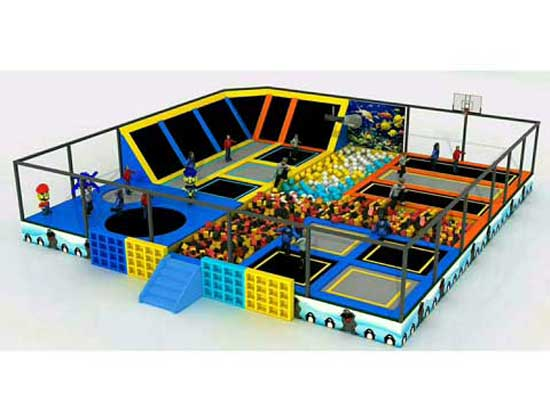 Kids Trampoline Park for Sale