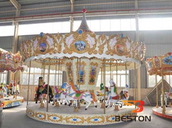 Carousel Rides With 16 Seat In Stock