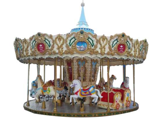 Beston Carousel Rides With 16 Seat