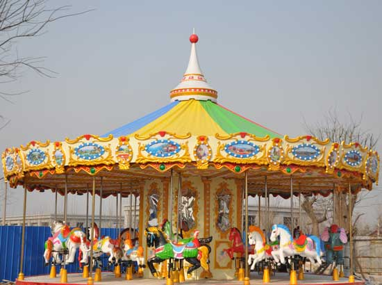 Carnival Carousel Rides With 24 Seats