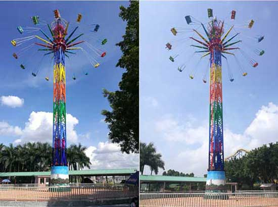 Swing Tower Rides In Stock