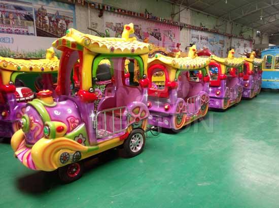 Kids Amusement Park Train Rides