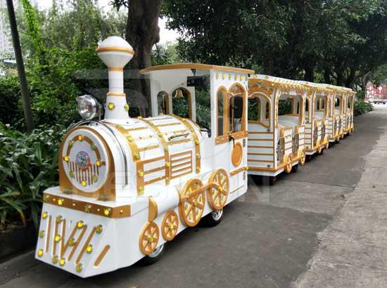 New Amusement Park Train Rides