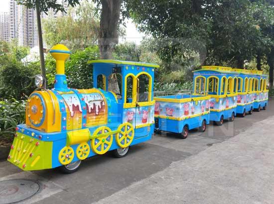 New Design Amusement Park Trains