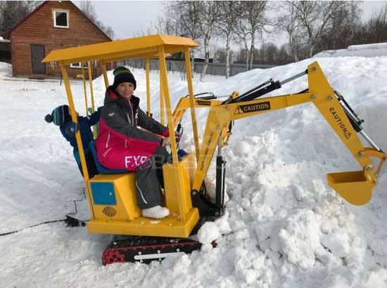 Beston Kids Excavator Rides Cases
