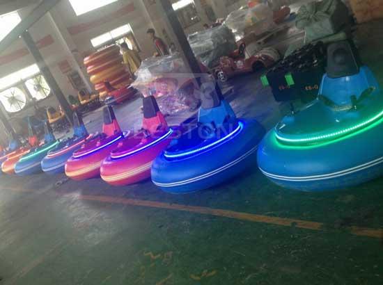 Backyard Inflatable Bumper Car Rides
