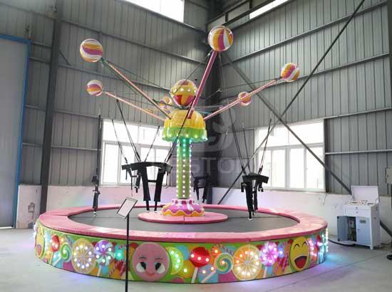 Kids Candy Trampoline Rides