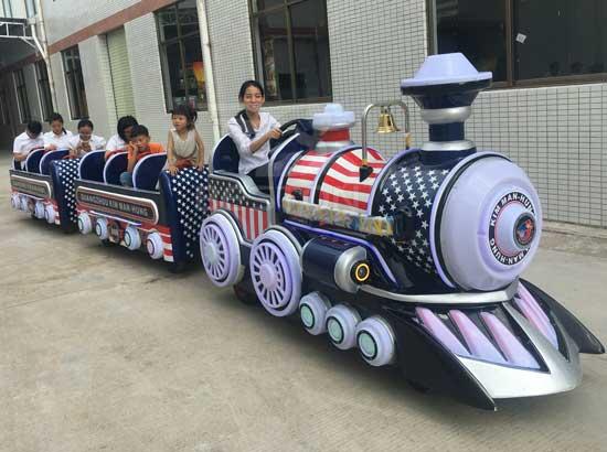 Kids Backyard Train Rides