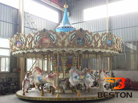 16 Seat Carousel for Amusement Parks