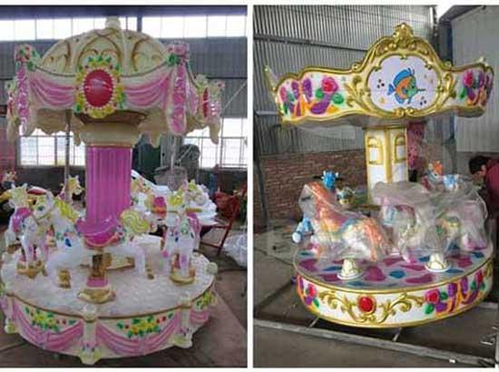 6 Seat Mini Carousel for Sale