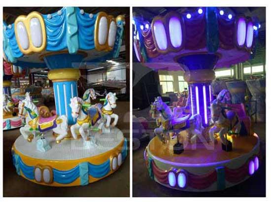Kids 6 Seat Mini Carousel for Sale