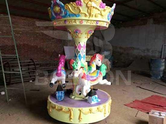 Mini 3 Seat Carousel Rides for Sale
