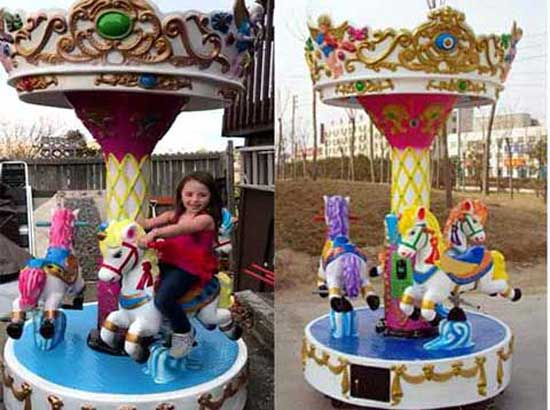 Mini Size 3 Seat Carousel for Kids
